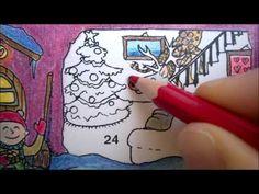 Tarinatädin joulukalenterivärityskuva – 24. luukku – ELINAP