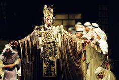 Nabucco. Prague National Theater. Costumes by Josef Jelínek
