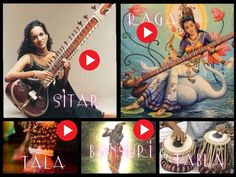 INDIAN MUSIC (interactive images)