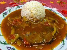 Cikánskáhovězí pečeně Czech Recipes, Indian Food Recipes, Snack Recipes, Cooking Recipes, Snacks, Roast Beef, Food 52, Stew, Good Food