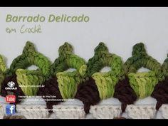Bico Barrado de Crochê Delicado - Professora Simone