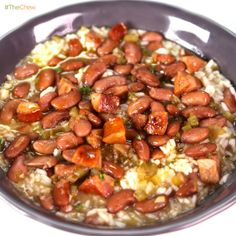 Red Beans and Rice by Michael Symon! #TheChew #BeansAndRice #FatTuesday #MardiGras