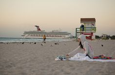 Miami, South Beach, Florida, sun, seaside,