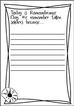 How should I write an essay on remembrance day?