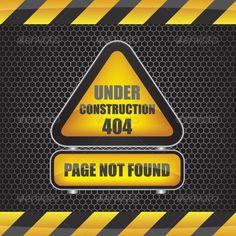404 Error Under Construction