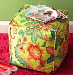 Free Sewing Pattern - Ottoman | DailyCraft -  Arts & Crafts Tips, Projects, & Inspiration.