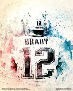 Designing Sport — Tom Brady, New England Patriots