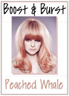 ' BOOST & BURST '- Tinted Shampoos/Conditioners - Pastel Hair Color