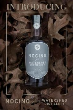 Watershed Nocino - Ohio-grown black walnut liqueur. Limited Edition release, December 2014
