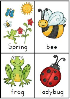 Making and Writing Spring Sentences for Kindergarten {vocab & sentence work} http://www.teacherspayteachers.com/Product/Making-and-Writing-Spring-Sentences-for-Kindergarten-vocab-sentence-work-1106807