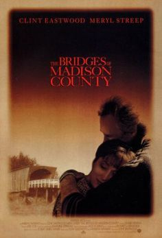 The Bridges Of Madison County starring Meryl Streep and Clint Eastwood- great casting.loved the book. Most Popular Movies, Great Movies, Famous Movies, Clint Eastwood, Meryl Streep, Love Movie, Movie Tv, Iowa, Movie Shots