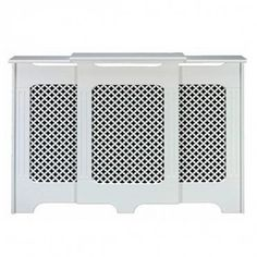 Victorian adjustable radiator cabinetry from Screwfix Best Radiators, Chimney Breast, Radiator Cover, Lounge, Cabinet, Storage, Interior, Modern, Stairs