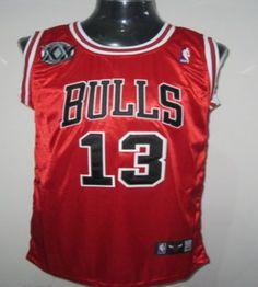 Bulls  13 Joakim Noah Red With 20TH Stitched NBA Jersey Retro Nba Jerseys 848093ff3