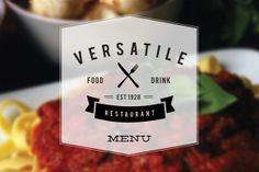 Modern Restaurant Menu (Versatile) by Creative Crown