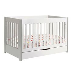 Babyletto Mercer Convertible Crib White