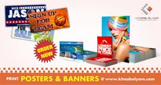 Poster & Banners