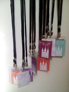 Young Women Stand in Holy Places temple recommend holders made with supplies from Staples & printable from http://www.corduroydreams.com/2013/01/stand-in-holy-places-printable-free-download.html