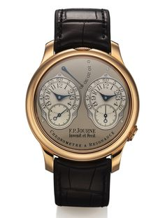 FP Journe Chronometre A Resonance Pink Gold sold in @Antiquorum NY auction for $35,000. Have a watch to sell? Call us at (212) 750-1103 or email clientadvisory@Antiquorum.com