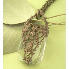 Phial of Galadriel Filigree Necklace, Tolkien Inspired