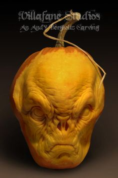 """If you were lucky enough to be in Vegas this weekend, you may have seen some incredible pumpkin sculptures gracing the Halloween events inside nightclubs TAO and Lavo. """"The Picasso of Pumpkins"""" Ray Villafane (who may remember from this post) partnered up with fellow artists, including Andy Bergholtz, to create some pumpkin sculptures that are out-of-this-world! These are some guys who could definitely give you a few good pumpkin carving guide!  First, of course, the pumpkins were transformed…"""