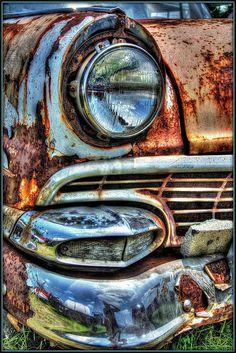 54 Ideas old vintage cars rust Old Vintage Cars, Vintage Trucks, Old Trucks, Old Cars, Antique Cars, Antique Trucks, Ford Classic Cars, Classic Chevy Trucks, Pompe A Essence
