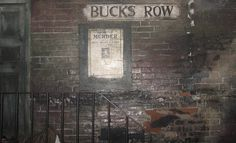 Jack The Ripper - Bucks Row by Adrian Ace's Photostream, via Flickr