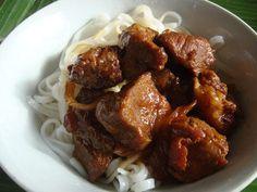 Porc au caramel - 6 PP Porc Au Caramel, Sport Diet, Nutella, Veggies, Beef, Chicken, Cooking, Voici, Ethnic Recipes