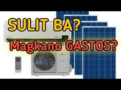 SOLAR POWER SYSTEM para sa AIRCON. Magkano Matitipid sa Electric Bill? - YouTube Solar Power System, Electric, Construction, Youtube, House, Building, Solar Energy System, Home, Youtubers