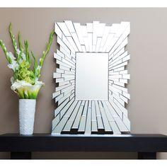 Abbyson Living Empire Rectangle Wall Mirror | Overstock.com
