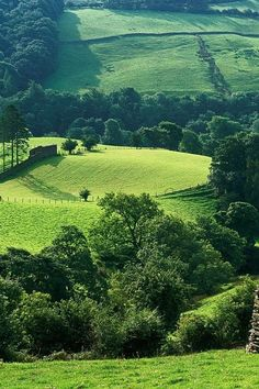 The Hills of Troutbeck, a hamlet within Cumbria, England - Beatrix Potter bought Troutbeck Farm.