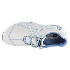 94df0633c416 Footjoy Women s Golf Shoes M Project 95656 7.5 M White Blue Womens Golf  Shoes