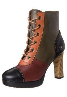 Neosens - LADO - Nauhalliset nilkkurit - monivärinen Lace Up Boots 1f41a97ae1