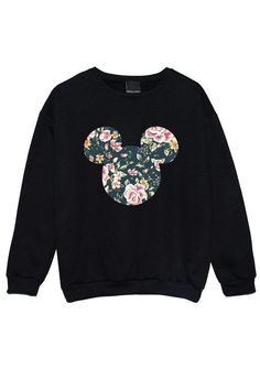 This ~classy~ way to show your Disney love ($21.45). | 17 Adorable Sweatshirts For People Who Are Always Freezing