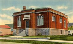 New England Carnegie Libraries: Abercrombie & Fitch Outlet Store, Freeport