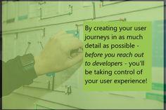 Always User Journeys First!