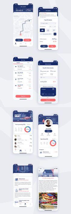 Web Design, Design Home App, App Ui Design, Interface Design, Identity Design, User Interface, Mobile Application Design, Mobile Ui Design, Android App Design