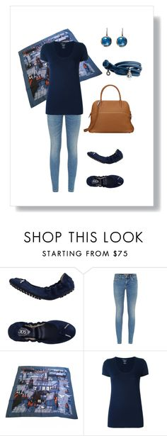 """""""#52"""" by cindrof on Polyvore featuring Mode, Tod's, Burberry, Hermès, Majestic und Ole Lynggaard"""