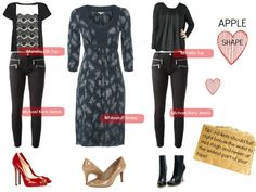 Apple shaped Women | Outfits