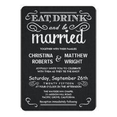 Black White Burlap Rustic Wedding Invitations