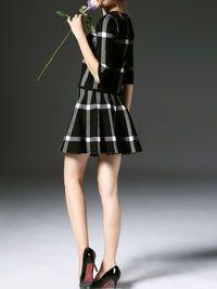 Fashion Paneled Mini dress