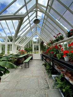 Alitex greenhouse, interior growing inspiration