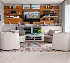 David Bastos amplia ambientes de apartamento em Salvador - Casa