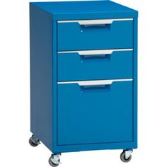 Turquoise + Filing Cabinet