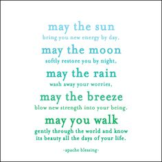 May the Sun Quotable Cards