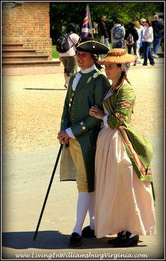 Living In Williamsburg, Virginia: Strolling In Style, Colonial Williamsburg, Virginia