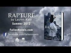 RAPTURE, is the conclusion to the bestselling FALLEN series. The sky is dark with wings.Like sand through an hourglass, time is running out for Luce an. Lauren Kate, Teen News, Fallen Series, Her Cast, Who Will Win, Book Trailers, Book People, Be With Someone, Books For Teens