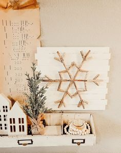 Pottery Barn Christmas, Wood Christmas Tree, Christmas Gift Tags, Christmas Diy, Christmas Wreaths, Christmas Topiary, Christmas Decorations, Diy Christmas Snowflakes, Wooden Snowflakes