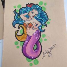 Quest'anno non abbiam paura della prova costume!! #tattoo #tattoos #tatuaggio #tatuaggi #tattooflash #tattoosketch #sketch #flash #illustration #art #mermaid #mermaidtattio #fatmermaid #fat #fatisbeauty #beauty #sirena #sirenatattoo #inked #inkess #inkedgirl #ladytattooer #tattooer #missaciddoll
