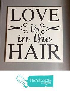 Painted canvas sign - hair salon decor - gift for hair stylist - beuaty salon decor - salon decor - hairstylist gift - hair salon art - hair salon wall art - gifts for hair stylist from Sunshine Decor http://www.amazon.com/dp/B015TXCGYA/ref=hnd_sw_r_pi_awdo_pkf6wb1E56CCS #handmadeatamazon