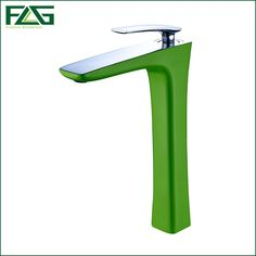 58.10$  Watch now - http://ali027.shopchina.info/go.php?t=32676588209 - FLG Top Basin Faucet Chrome Platform Heightening Color Green Painting Wasserhahn Bathroom Sink Faucet Water Mixer Bath Tap M237D 58.10$ #bestbuy